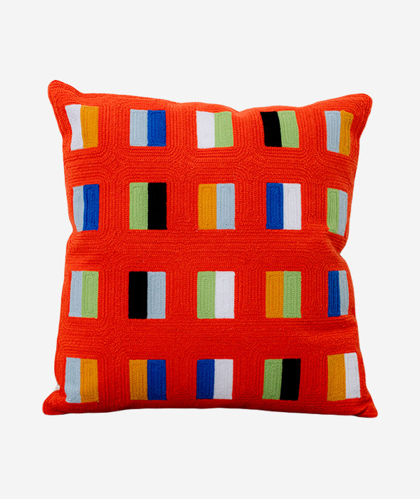 Dash Embroidered Pillow Dusen Dusen - BEAM // Design Store