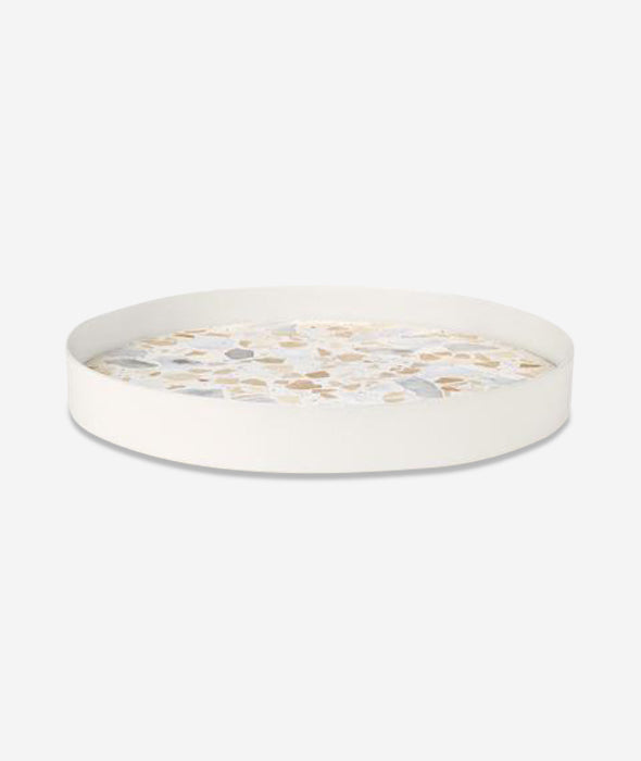 ERAT Terrazzo Tray Pink - 2 Sizes Lucie Kaas - BEAM // Design Store