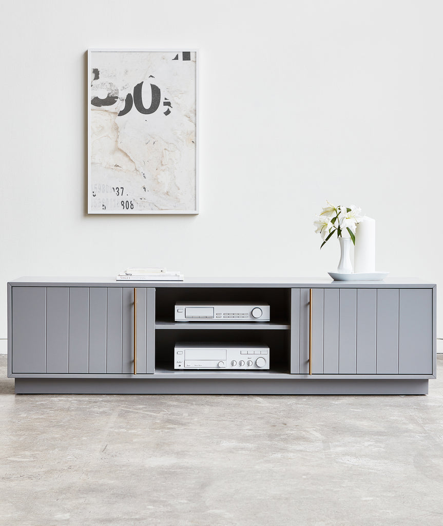 Elora Media Stand - 3 Colors Gus* Modern - BEAM // Design Store