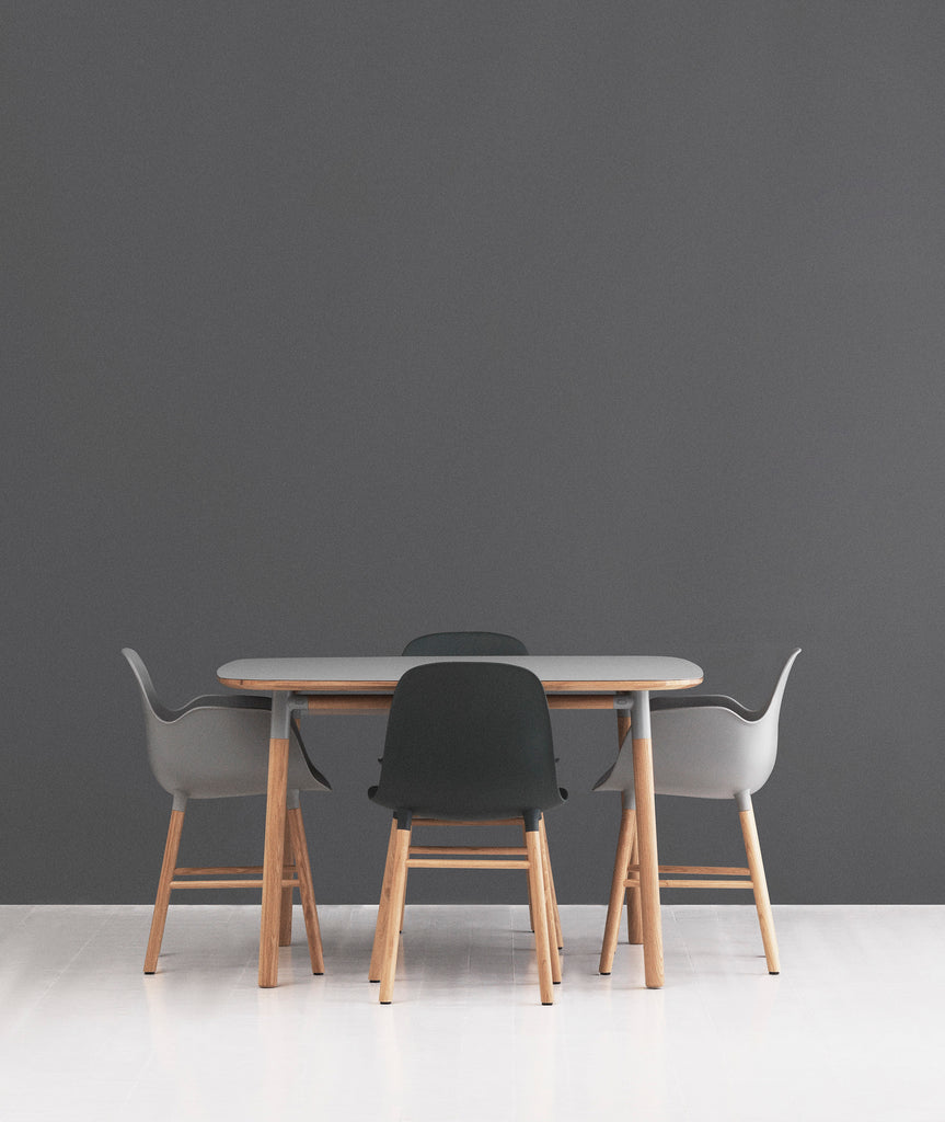 Form Dining Armchair Wood - More Options