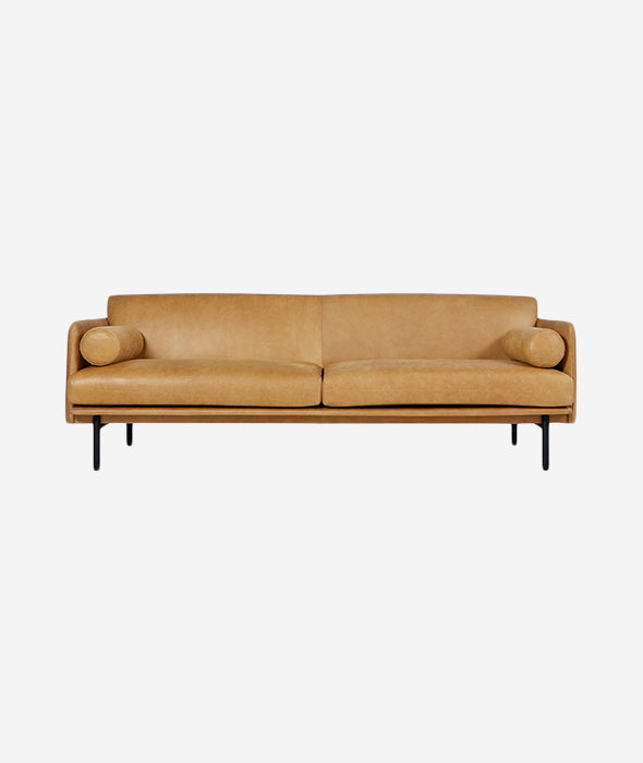 Foundry Leather Sofa - 2 Colors