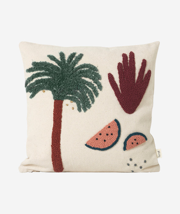 Fruiticana Palm Pillow