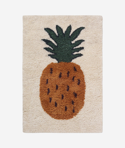 Fruiticana Tufted Pineapple Rug - 2 Sizes Ferm Living - BEAM // Design Store