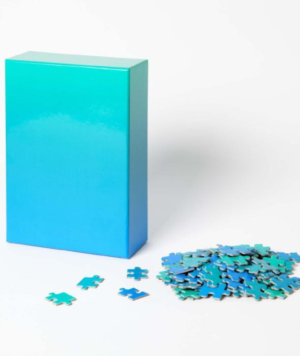 Gradient Puzzle - 5 Colors Areaware - BEAM // Design Store
