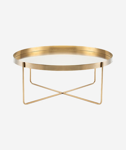 Gaultier Coffee Table Round - 2 Colors