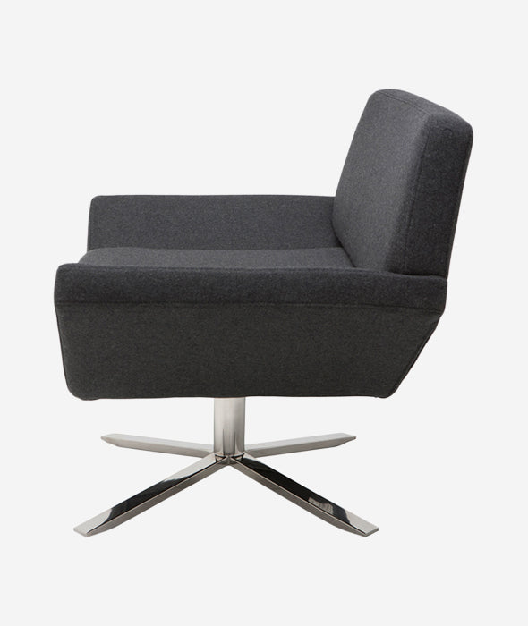 Sly Swivel Occasional Chair Nuevo - BEAM // Design Store