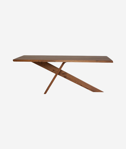 Samurai Dining Table Wood - 2 Sizes Nuevo - BEAM // Design Store