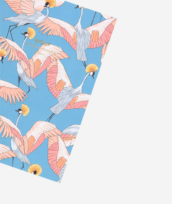 Imperial Heron Notebook - 2 Sizes Wouf - BEAM // Design Store