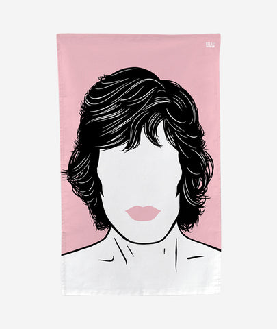 Mick Jagger Tea Towel Bold & Noble - BEAM // Design Store