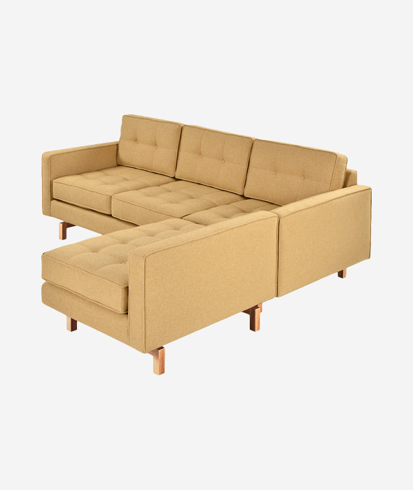 Jane 2 Loft Bi-Sectional Gus* Modern - BEAM // Design Store