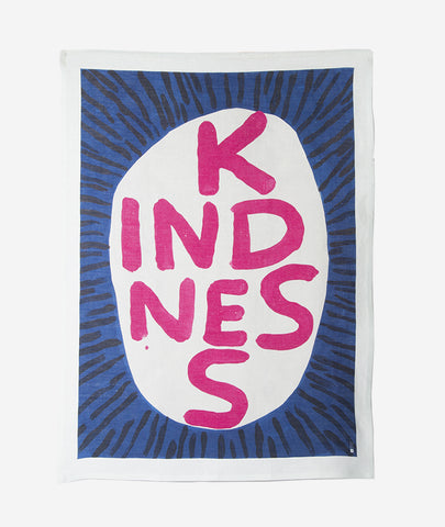 Kindness x David Shrigley Tea Towel Third Drawer Down - BEAM // Design Store