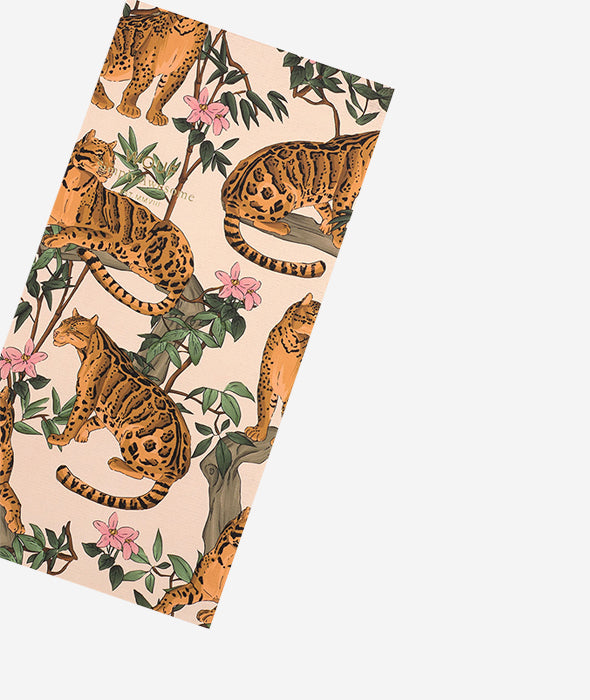 Lazy Jungle Notebook - 2 Sizes Wouf - BEAM // Design Store