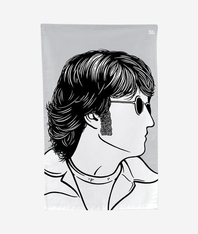 John Lennon Tea Towel Bold & Noble - BEAM // Design Store