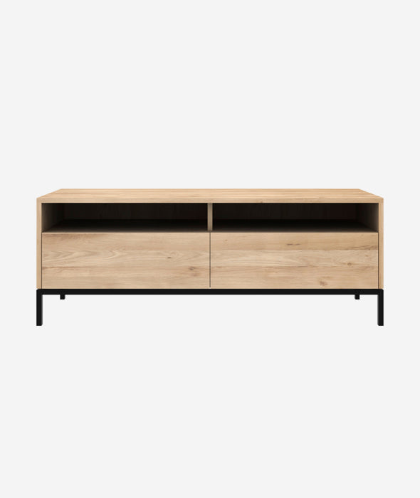 Ligna TV Cupboard - 2 Drawers Ethnicraft - BEAM // Design Store