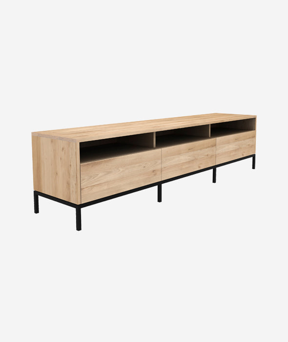 Ligna TV Cupboard - 3 Drawers