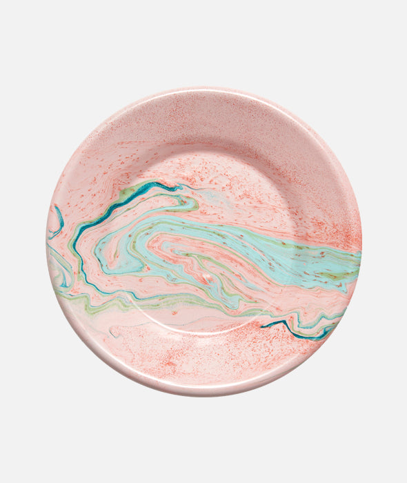 Enamelware Marble Lunch Plates