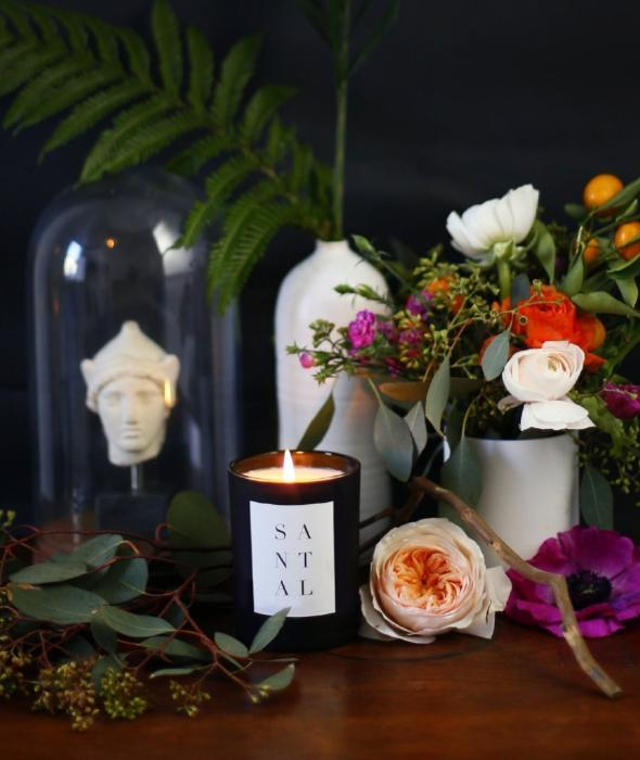Santal Noir Candle BROOKLYN CANDLE STUDIO - BEAM // Design Store