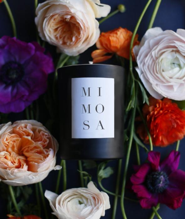 Mimosa Noir Candle