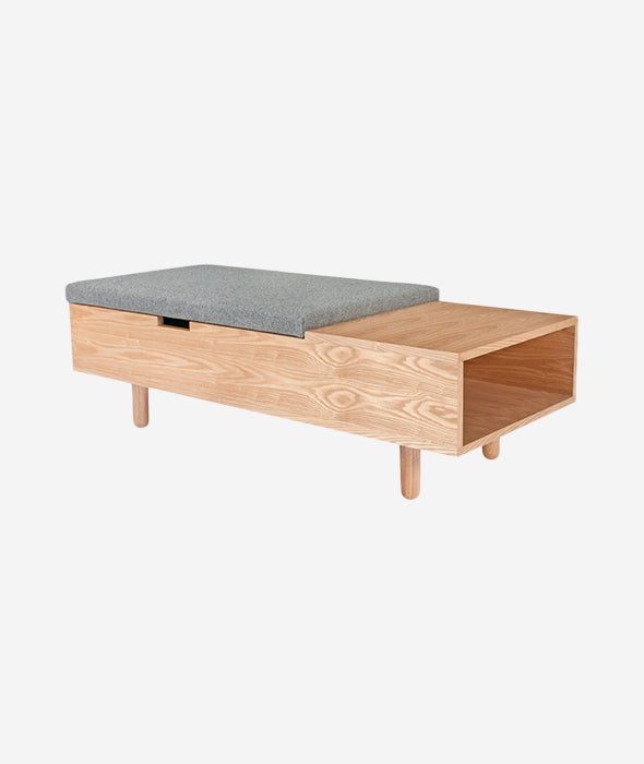 Mimico Storage Ottoman - 2 Colors Gus* Modern - BEAM // Design Store