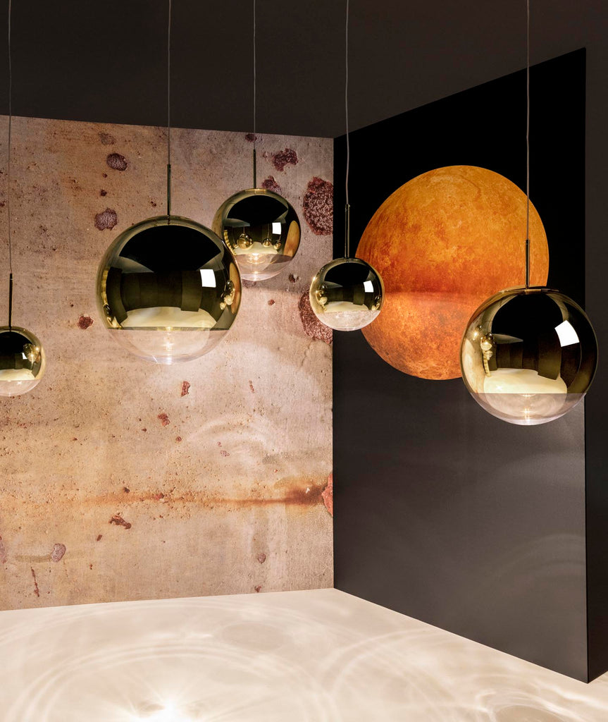 Mirror Ball Pendant Lamp - 2 Colors Tom Dixon - BEAM // Design Store