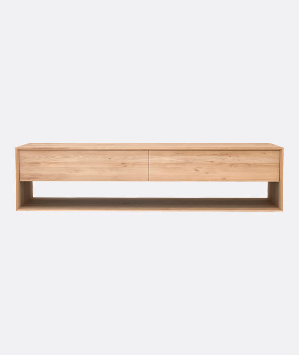 Nordic TV Cupboard Large Ethnicraft - BEAM // Design Store