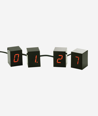 Numbers Desk Clock Areaware - BEAM // Design Store