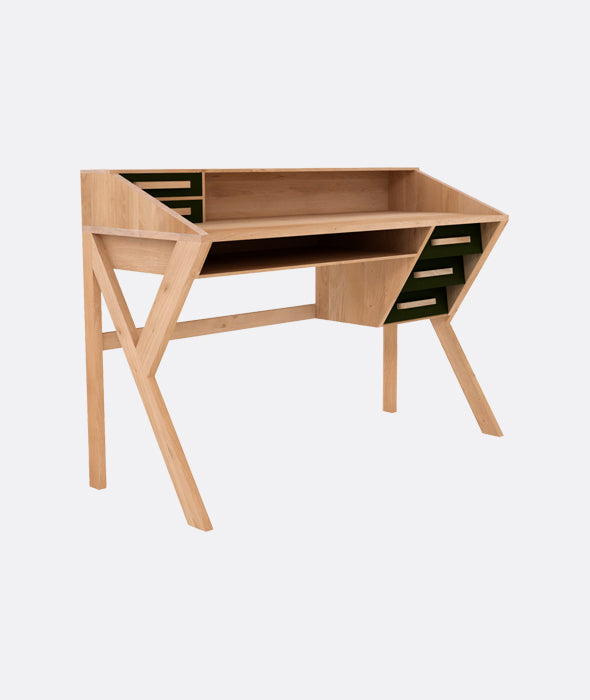 Origami Desk - 2 Colors Ethnicraft - BEAM // Design Store