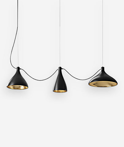 Swell String Pendant Lights Set/3