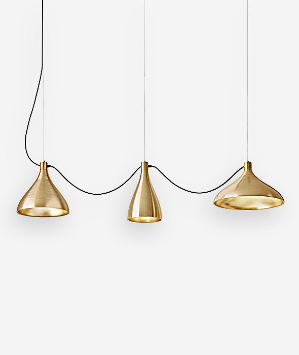 Swell String Pendant Lamp Set/3 - 3 Colors - BEAM