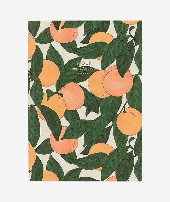 Peach Notebook - 2 Sizes Wouf - BEAM // Design Store