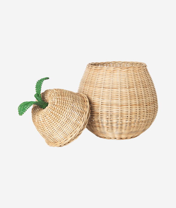 Pear Storage Basket - 2 Sizes Ferm Living - BEAM // Design Store