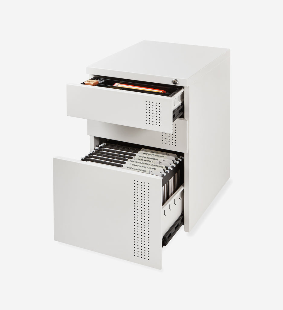 Perf File Cabinet - 2 Colors Gus* Modern - BEAM // Design Store