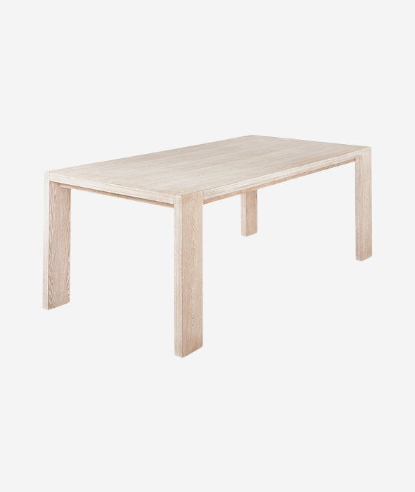 Plank Dining Table + Bench - 2 Colors Gus* Modern - BEAM // Design Store