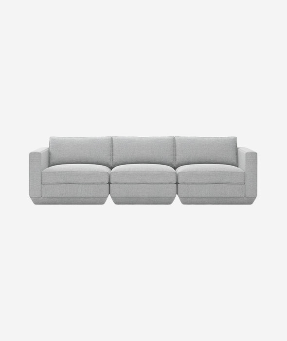 Podium Modular 3-PC Sofa - 4 Colors