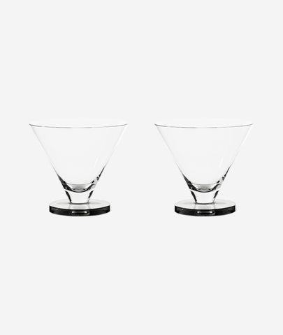 Puck Cocktail Glasses Set/2