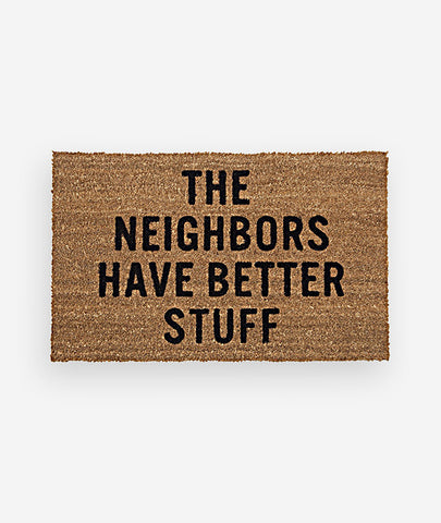 Neighbors Door Mat