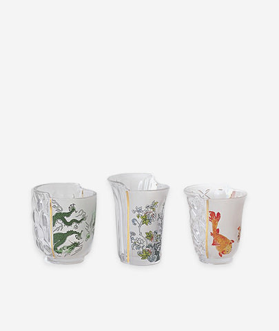 Hybrid Aglaura Glasses (Set/3) Seletti - BEAM // Design Store