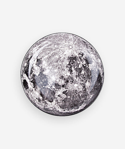 Cosmic Diner Moon Serving Plate Seletti - BEAM // Design Store