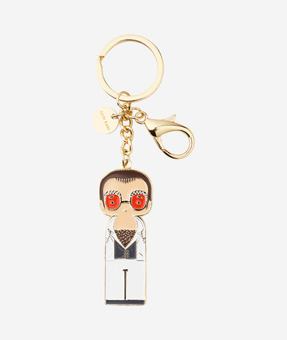 Elton In White Keychain Sketch.inc for Lucie Kaas - BEAM // Design Store