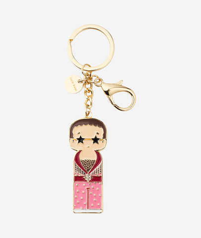 Elton In Pink Keychain Sketch.inc for Lucie Kaas - BEAM // Design Store