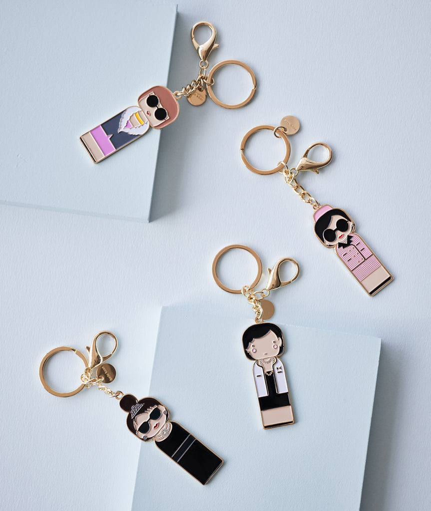 Jackie Keychain Sketch.inc for Lucie Kaas - BEAM // Design Store