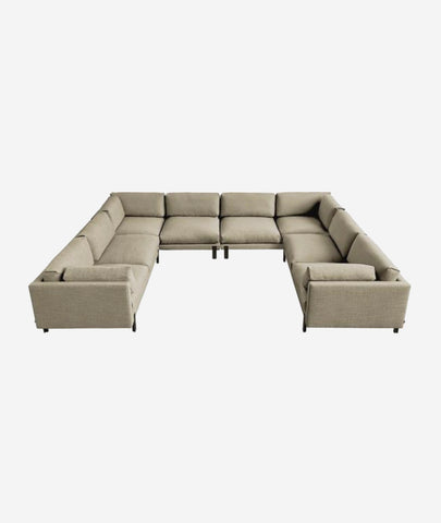 Silverlake U-Shaped Sectional - 3 Colors Gus* Modern - BEAM // Design Store