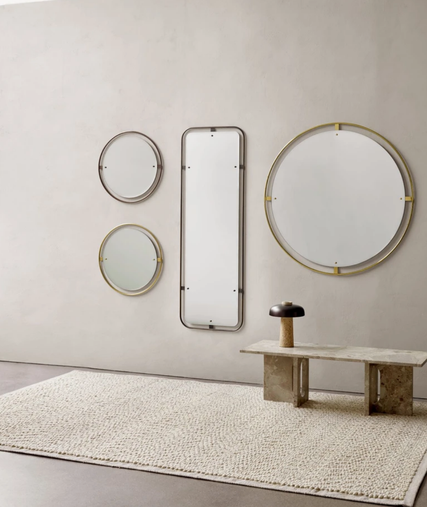 Nimbus Rectangle Mirror - 2 Colors