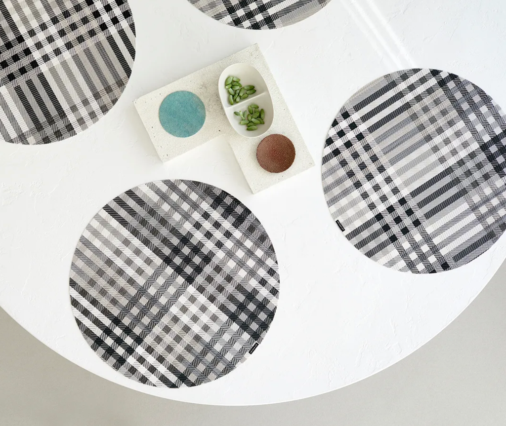 Rhythm Round Placemat Set/4 - More Colors