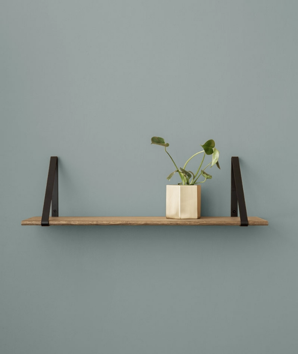 Wood and Metal Wall Shelf - 3 Colors Ferm Living - BEAM // Design Store