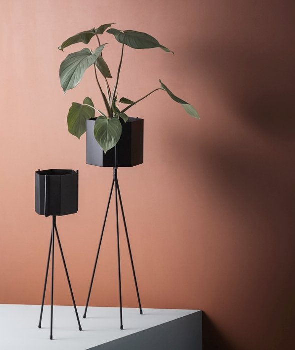 Hexagon Plant Stands Ferm Living - BEAM // Design Store