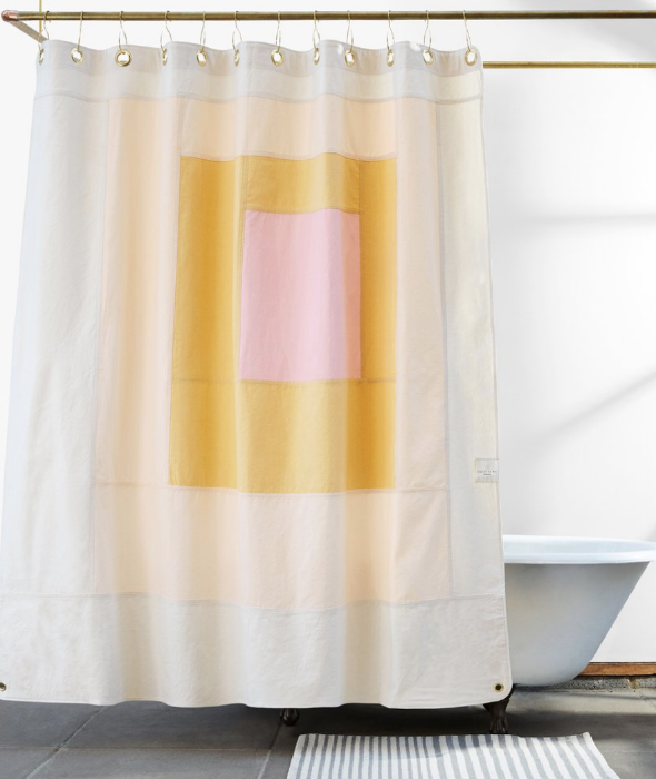 Marfa Shower Curtain Cloud Quiet Town - BEAM // Design Store
