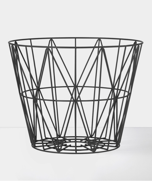 Wire Basket / End Table - More Options Ferm Living - BEAM // Design Store
