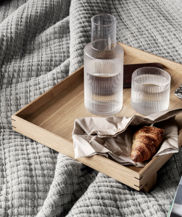 Bon Wooden Tray - 2 Colors Ferm Living - BEAM // Design Store