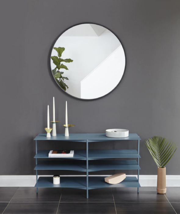 "Hub 37"" Mirror Round - 2 Colors Umbra - BEAM // Design Store"